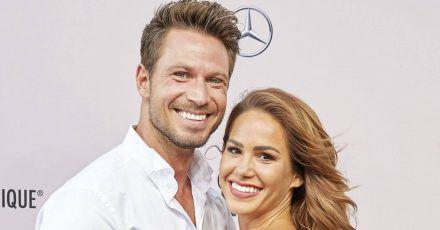Sebastian Pannek und Angelina Heger haben trotz Corona in einem Schloss geheiratet