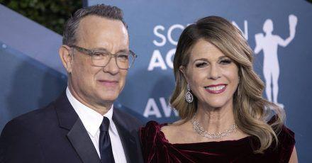 Tom Hanks und Rita Wilson wollen bei der Entwicklung eines Impfstoffes mithelfen