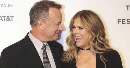 Rita Wilson ist froh, dass sie mit ihrem Tom Hanks gleichzeitig Corona hatte