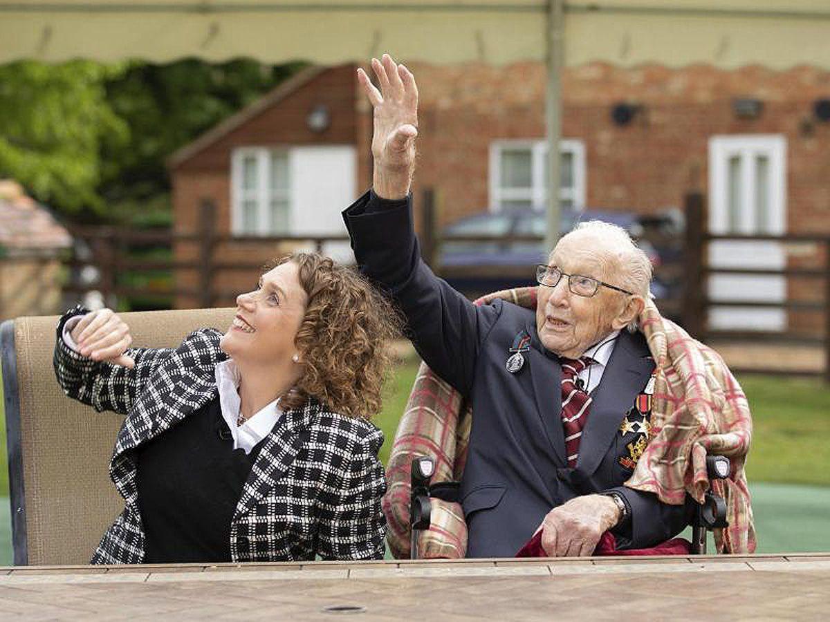 Briten-Shootingstar Tom Moore feiert 100. Geburtstag und 34 Mio. Euro!