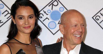 Bruce Willis endlich wieder mit der Familie vereint