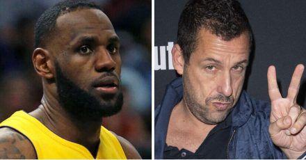 Adam Sandler wird dank LeBron James zum Basketball-Scout