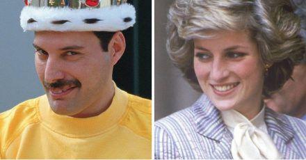 Lady Diana zog heimlich mit Freddy Mercury durch Gay Clubs