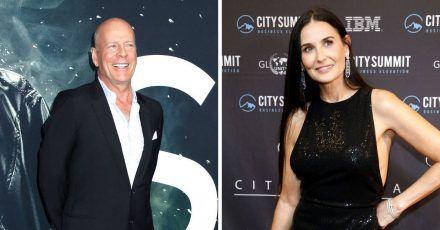 Bruce Willis und Demi Moore tanzen durch die Corona-Krise