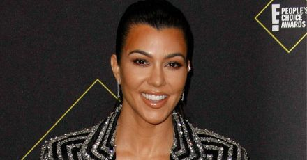 Kourtney Kardashian: Nur kurvig, nicht schwanger