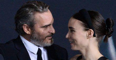 Joaquin Phoenix und Rooney Mara sollen ihr erstes Kind erwarten