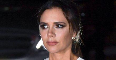 Victoria Beckham geht zum Lachen doch nicht in den Keller