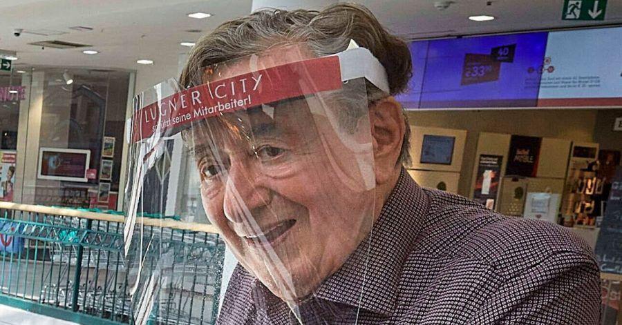 """Richard Lugner (87) trifft nach einem Monat sein """"Zebra"""" wieder"""