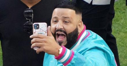 DJ Khaled: Weiblicher Fan zeigt ihm während Live-Stream den Hintern