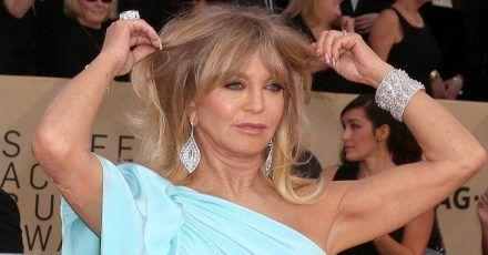 """Goldie Hawn hat Harvey Weinstein angerufen: """"Du weißt, dass ich nicht 23 bin?"""""""