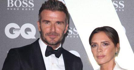 So süß gratuliert Victoria Beckham ihrem David zm 45. Geburtstag