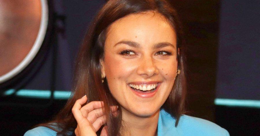 Janina Uhse bekommt jetzt Nachrichten aus der ganzen Welt