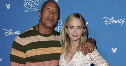 Dwayne Johnson & Emily Blunt kommen mit Superhelden-Film
