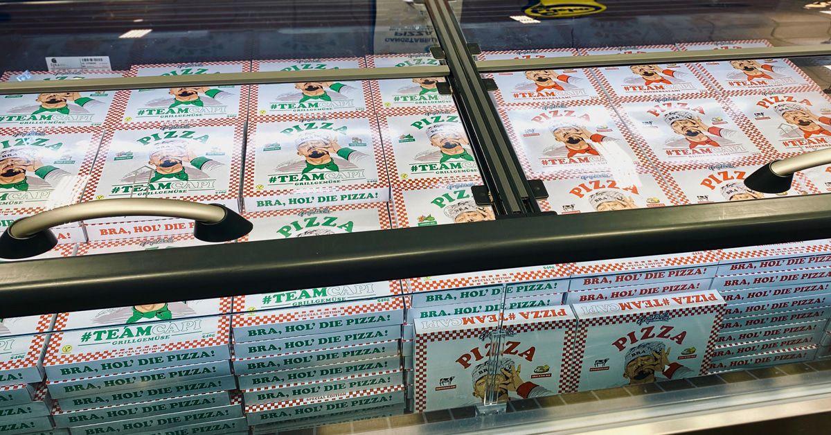 Capital Bra: Seine Pizza ist der Verkaufshit in den Supermärkten!