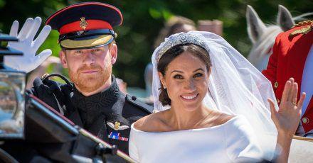 Prinz Harry und Meghan Markle schon zwei Jahre verheiratet