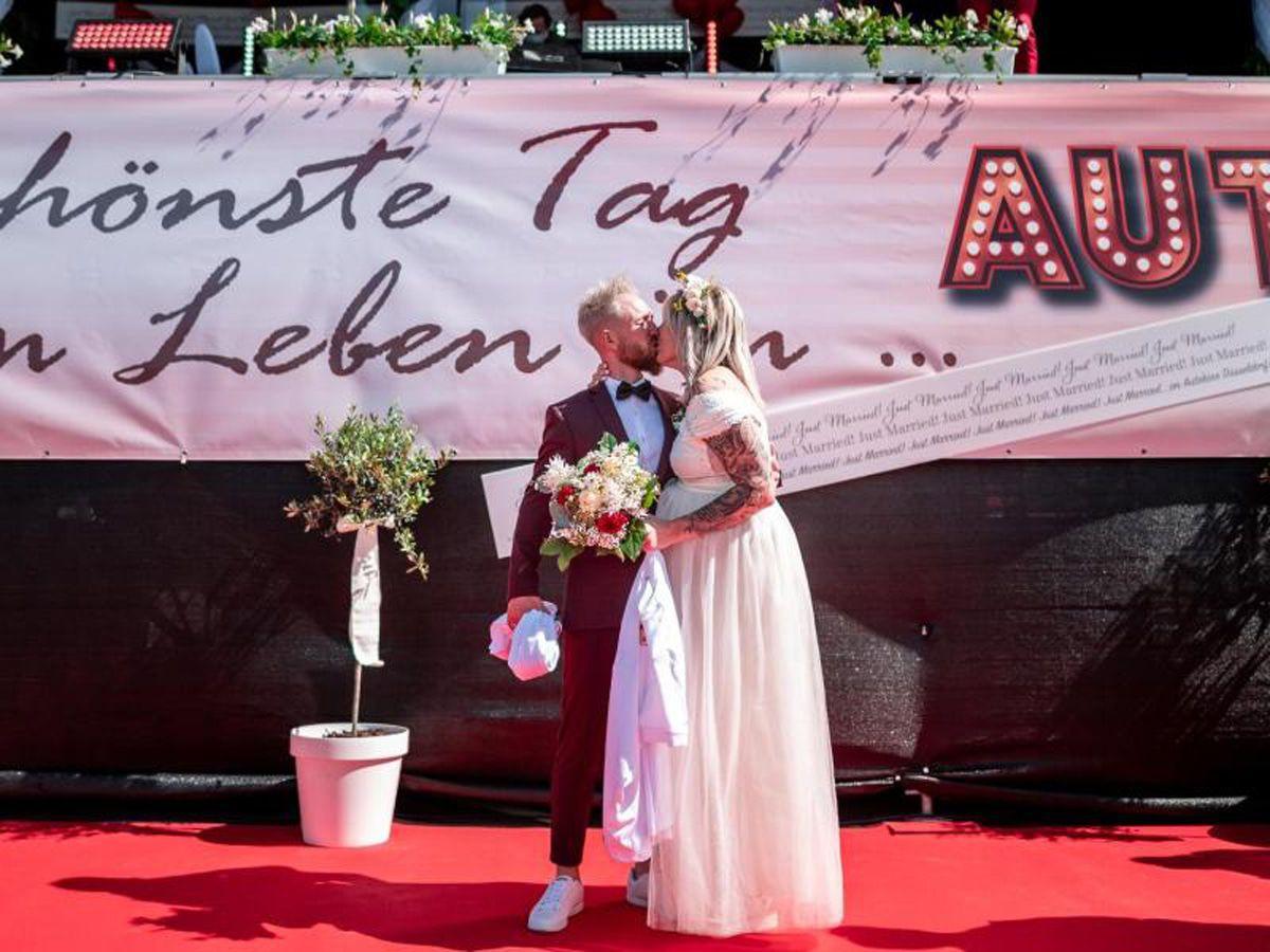 Das waren die drei Hochzeiten im Düsseldorfer Autokino