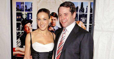 Sarah Jessica Parker & Matthew Broderick feiern 23. Hochzeitstag