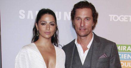 Matthew McConaughey & Camila Alves spenden weitere 100.000 Masken