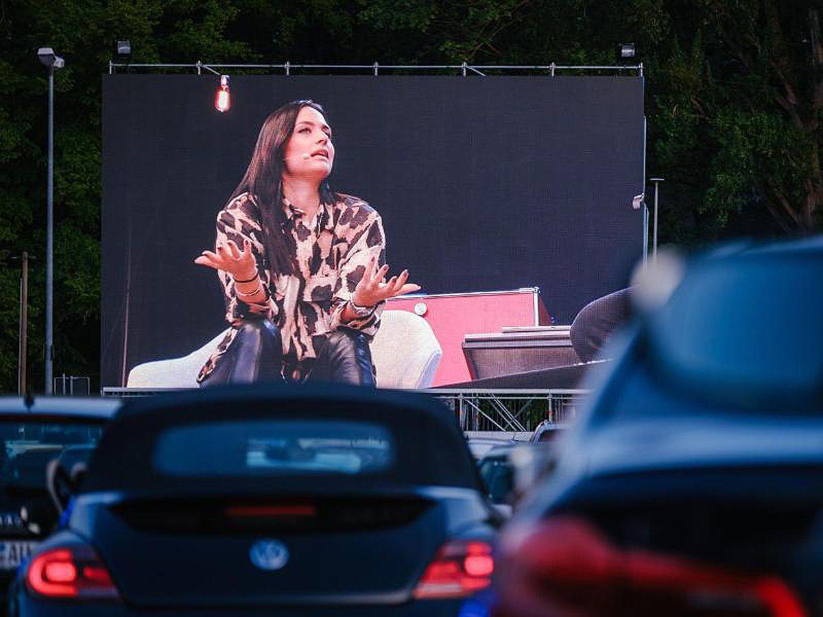 Oliver Pocher und Gattin: So war ihre erste Autokino-Show