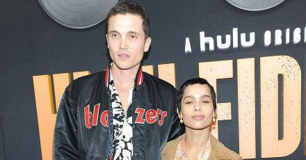 Zoe Kravitz and Karl Glusman