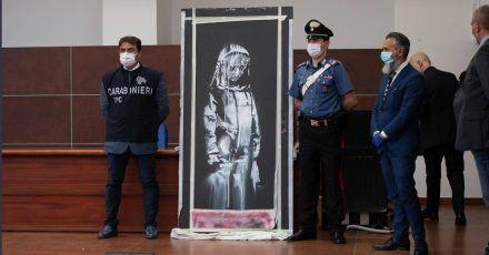 Banksy: Nach Bataclan-Tür-Raub sechs Festnahmen!