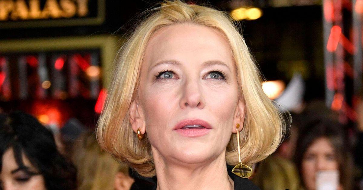 Cate Blanchett hat sich mit der Kettensäge in den Kopf geschnitten