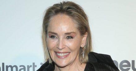 Sharon Stone wurde vom Blitz getroffen