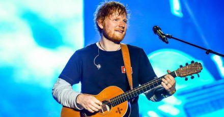 Ed Sheeran ist der meistgehörte Sänger