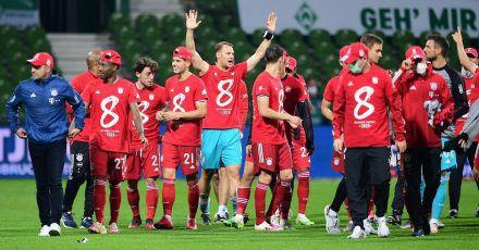 Gähn! FC Bayern München wieder Meister - und so einsam wird gefeiert