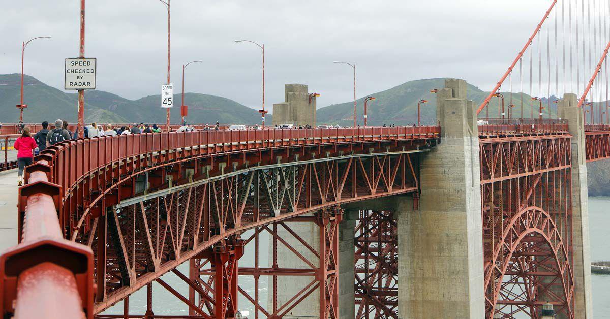 San Francisco unter Schock: Golden Gate Bridge nervt mit Horrorsound