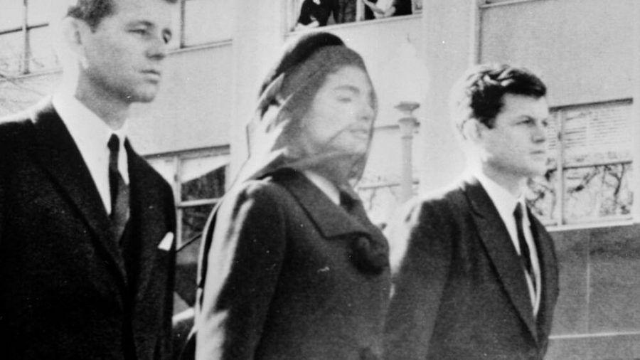 Jackie Kennedy bei der Beerdigung ihres Mannes John F. Kennedy. (obr/spot)