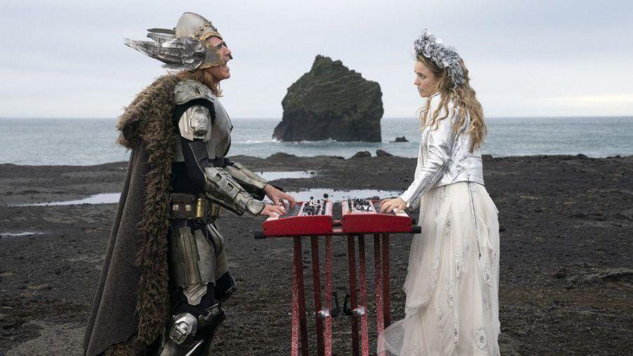 "Will Ferrell als Lars Erickssong und Rachel McAdams als Sigrit Ericksdottir in ""Eurovision Song Contest: The Story of Fire Saga"". (cam/spot)"