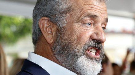 Mel Gibson 2017 auf einer Premiere. (mia/spot)