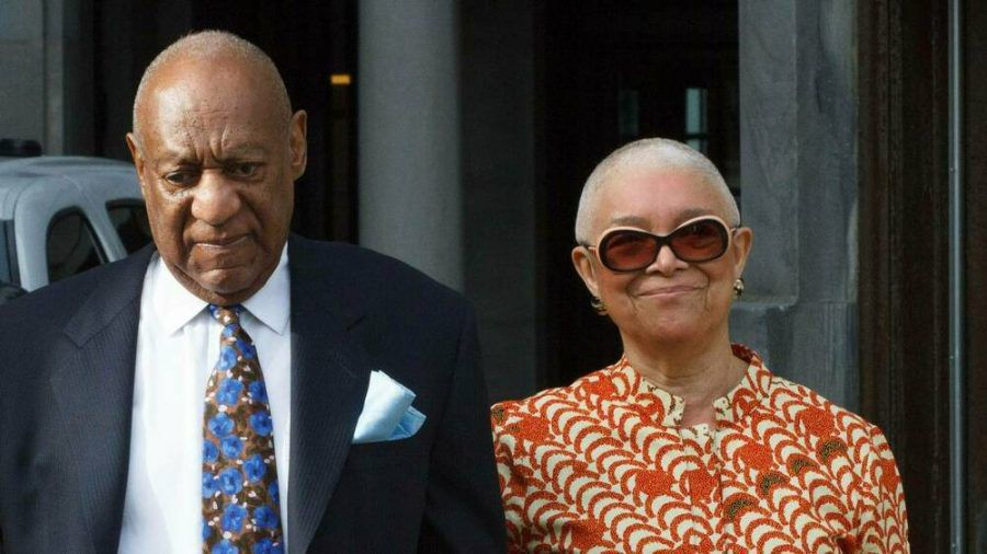 Bill und Camille Cosby kurz vor seiner Verurteilung (stk/spot)