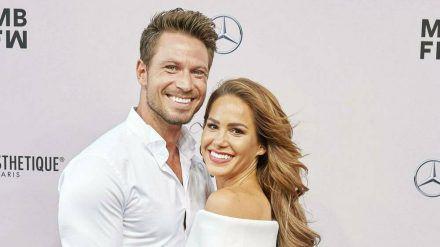 "Sebastian und Angelina Pannek haben das erste ""Bachelor""-Baby bekommen. (sob/spot)"