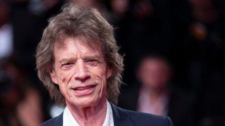 Rolling-Stones-Frontmann Mick Jagger ist kein Fan des amerikanischen Präsidenten. (elm/spot)