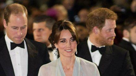 """Die Premiere des """"James Bond""""-Films """"Spectre"""" besuchten Prinz William, Herzogin Kate und Prinz Harry 2015 gemeinsam (hub/spot)"""
