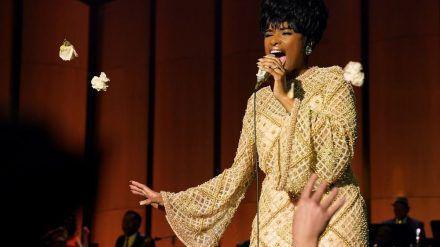 "Jennifer Hudson als ""Queen of Soul"" Aretha Franklin in ""Respect"" (hub/spot)"