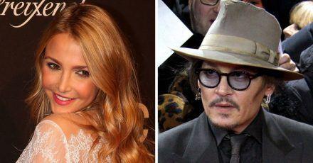 Johnny Depp: Was geht da mit der Stieftochter von Uschi Glas?