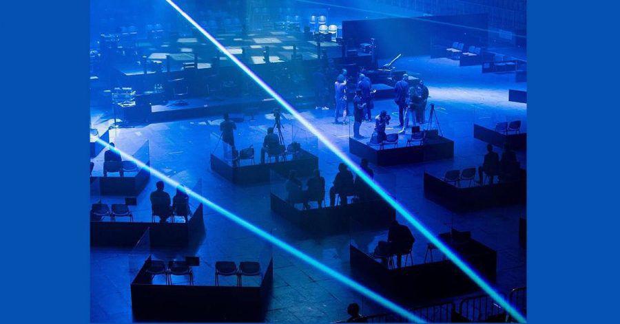 Ähm, sehen so die Arena-Konzerte der Zukunft aus?