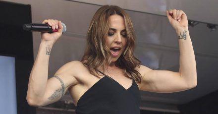 Melanie C musste bei Blur-Konzert von der Bühne getragen werden