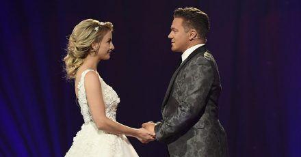 Stefan Mross & Anna-Carina Woitschack haben im TV geheiratet