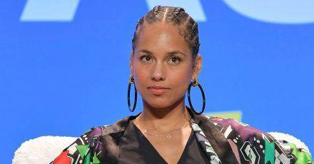 """Alicia Keys fordert auf """"den Mund aufzumachen"""""""