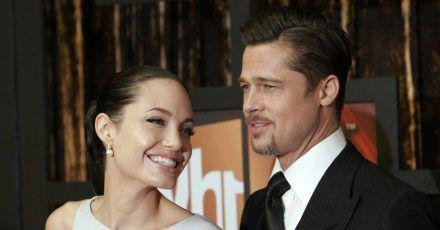 Brad Pitt: Was wollte er bei Angelina Jolie?