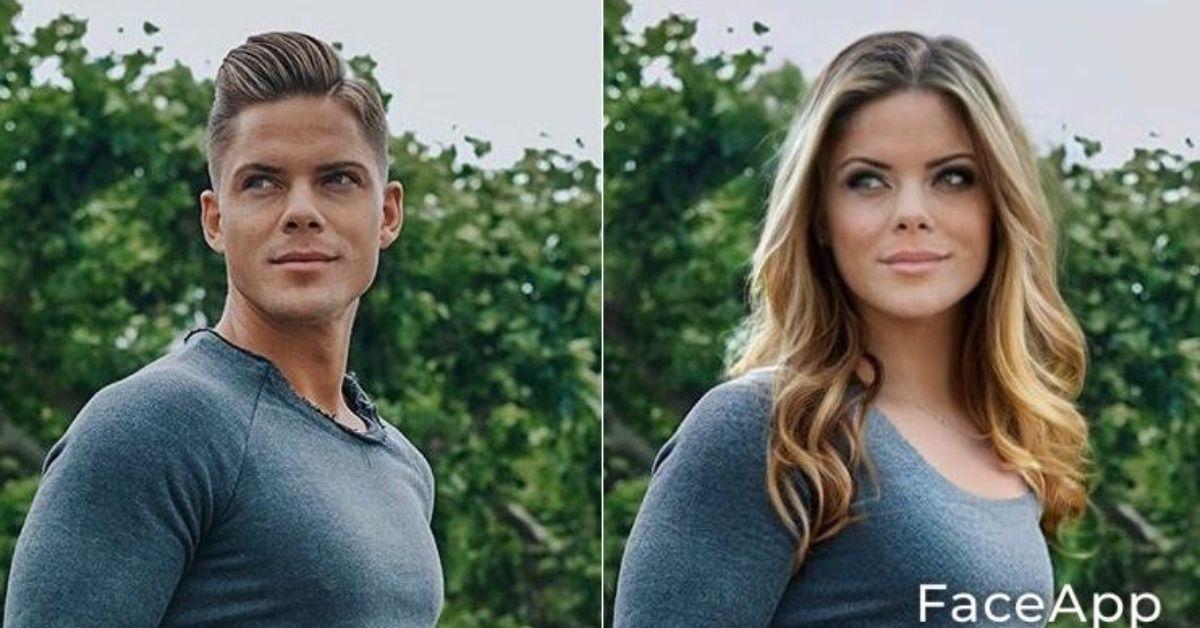 Big-Brother-Star Cedric Beidinger sieht hier aus wie Pamela Reif