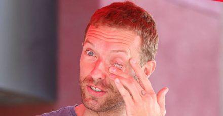 Chris Martin wird von Alkohol depressiv