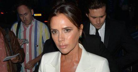 Victoria Beckham freut sich wie verrückt über Verlobung ihres Söhnchens