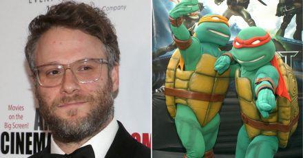 """Seth Rogen plant """"Teenage Mutant Ninja Turtles""""-Remake"""