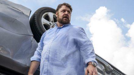 """Hollywoodstar Russell Crowe mimt in """"Unhinged - Außer Kontrolle"""" einen psychotischen Fremden. (wag/spot)"""