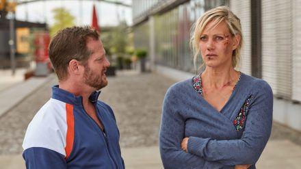 """""""Mordshunger"""": Britta (Anna Schudt) und Max (Aurel Manthei) müssen erkennen, wohin es führen kann, sich zu sehr in ein anderes Leben zu träumen (cg/spot)"""